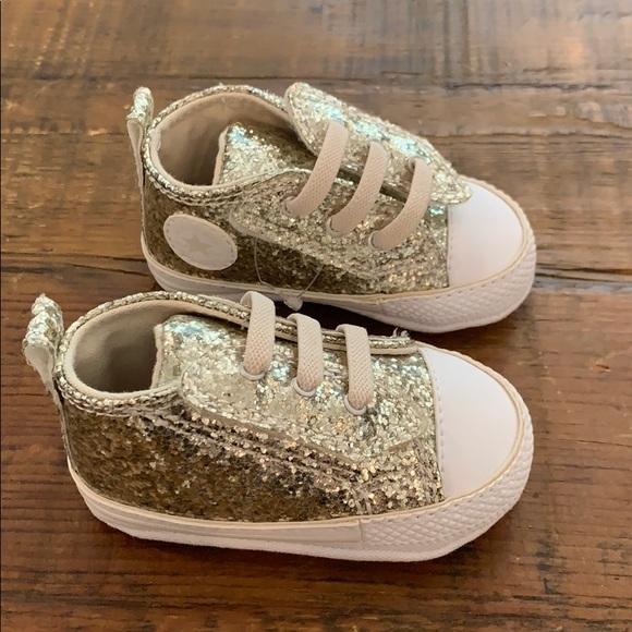 infant sparkle converse